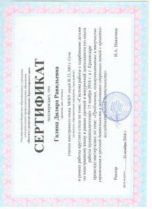 сертификат от 15 ноября 2016 001
